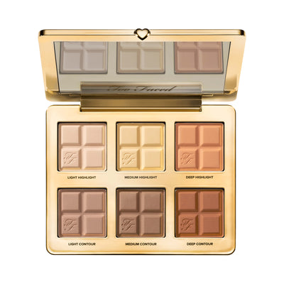 Too Faced Cocoa Contour Contouring Highlighting Palette