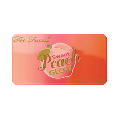 Too Faced Sweet Peach Glow Peach-Infused Highlighting Palette Close