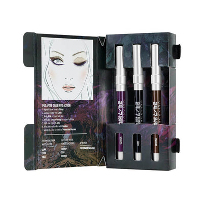 Urban Decay After Dark Travel Pencil Set Open