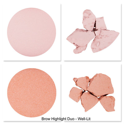 Sigma Beauty Brow Highlight Duo Well-lit