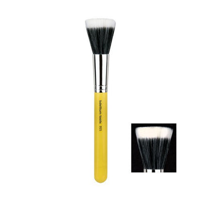 BDellium Tools Professional Antibacterial Makeup Brush Studio Line Duet Fiber Finishing 955 Yellow