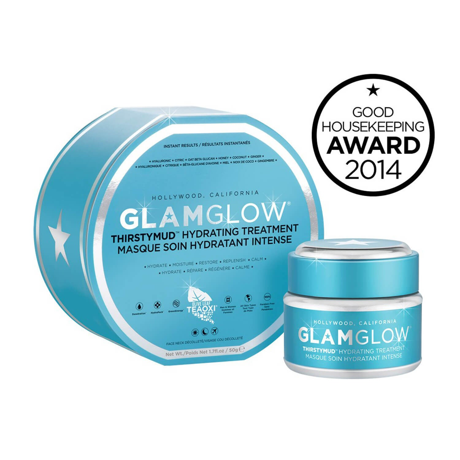 GLAMGLOW THIRSTYMUD HYDRATING TREATMENT 50g Box