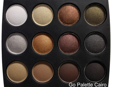 Coastal Scents Go Eyeshadow Palette Cairo