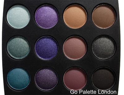 Coastal Scents Go Eyeshadow Palette London
