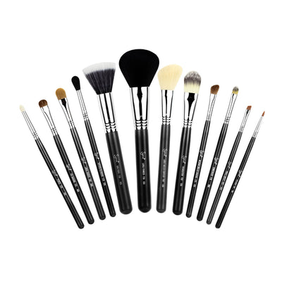 Sigma Beauty 12 Brush Kit Make Me Classy In Black