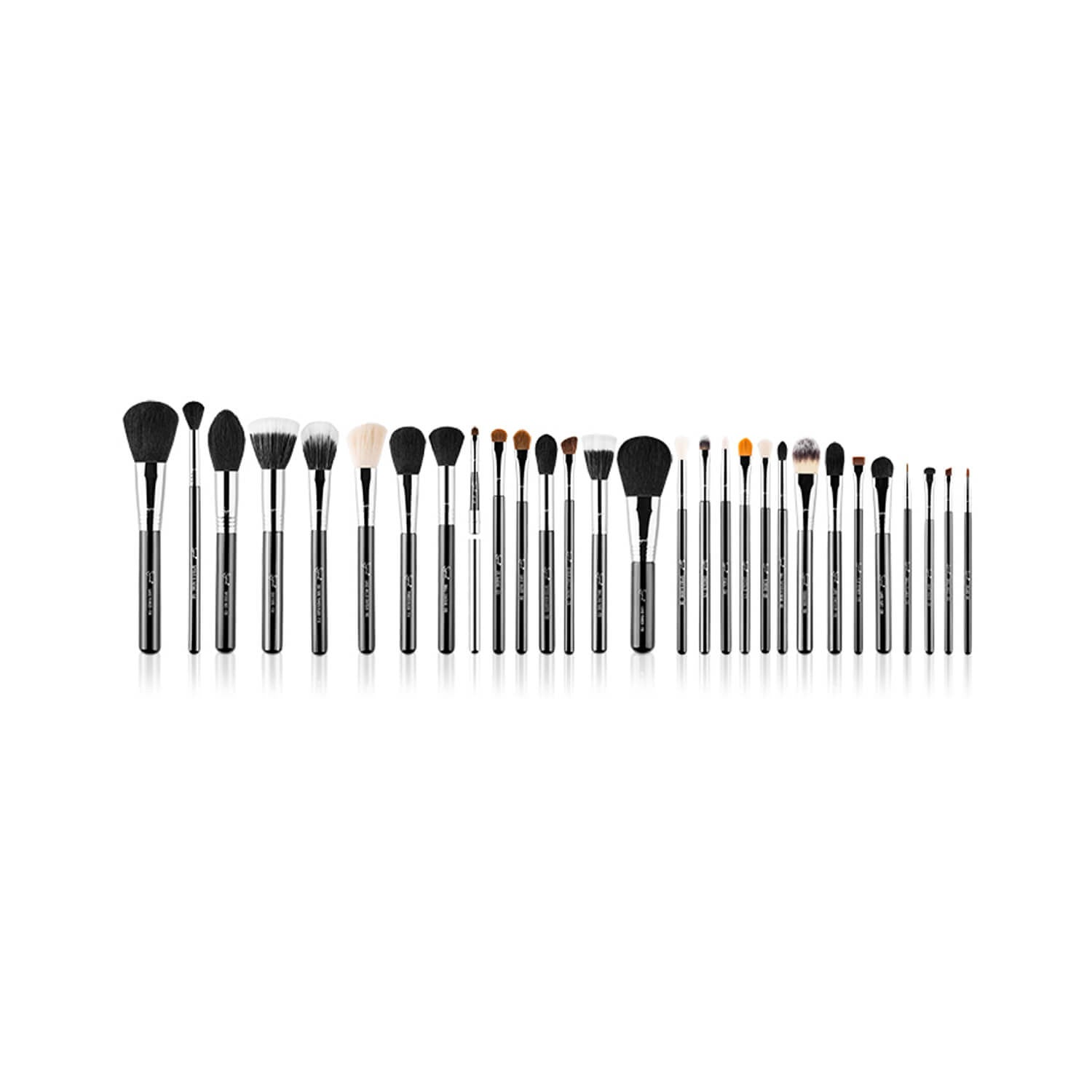 Sigma Beauty 29 Brushes Complete Kit Chrome