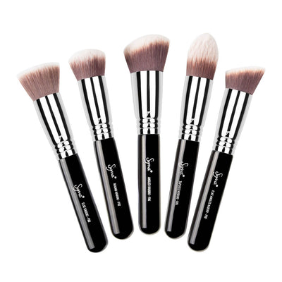 Sigma Beauty Synthetic Kabuki 5 Brushes Kit