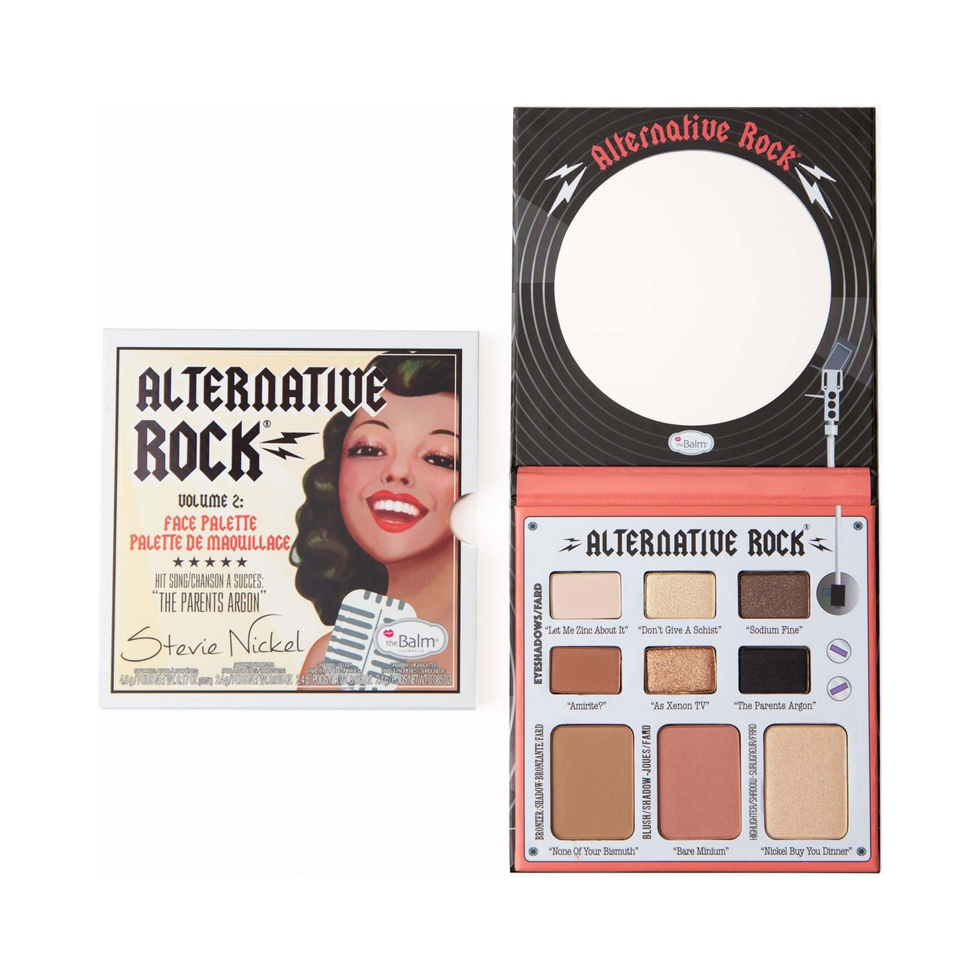 theBalm Alternative Rock Vol 2 Eyeshadow Palette