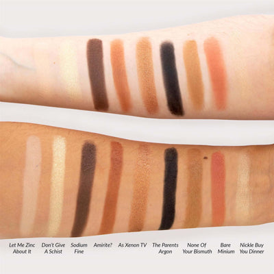 theBalm Alternative Rock Vol 2 Eyeshadow Palette Swatches