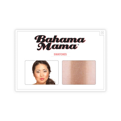 theBalm Bahama Mama Bronzer Shadow Contour Powder Swatches