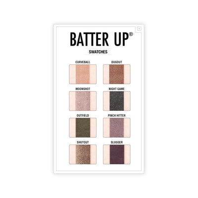 theBalm Batter Up Eyeshadow Stick Swatches