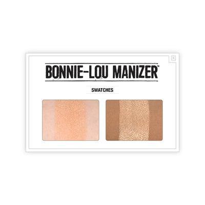 theBalm Bonnie-Lou Manizer Highlighter & Shimmer Swatches