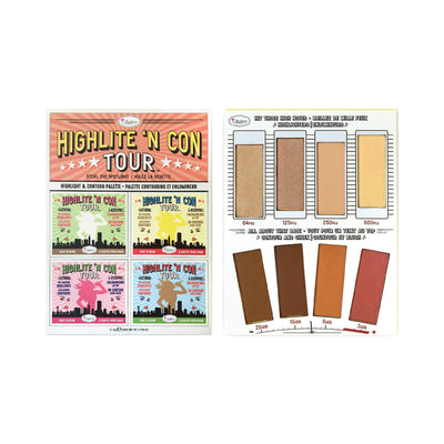 theBalm Highlite N Con Tour Highlight Contour Palette