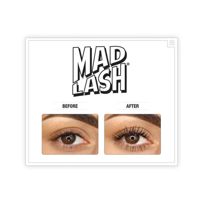 theBalm Mad Lash Duo Mascara Swatch