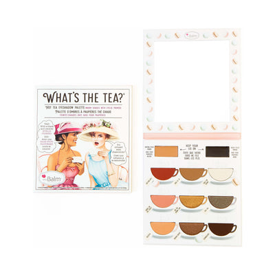 theBalm What's The Tea Hot Tea Eye shadow Palette