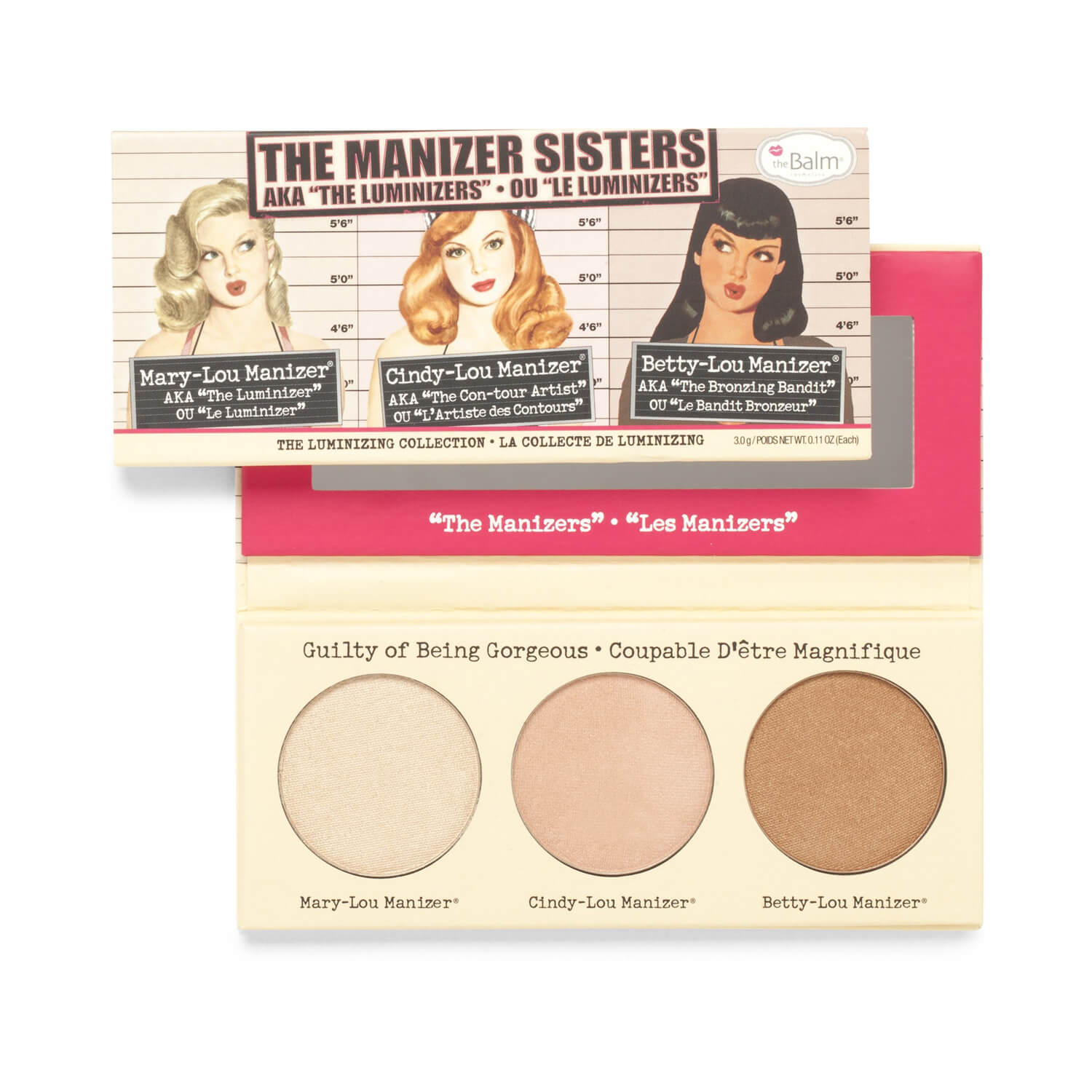 "theBalm theManizer Sisters AKA the ""Luminizers"""