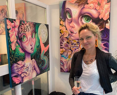 Coco Electra - Art, tattoos and travel. A colourful Copenhagen artist tells us about her journey.