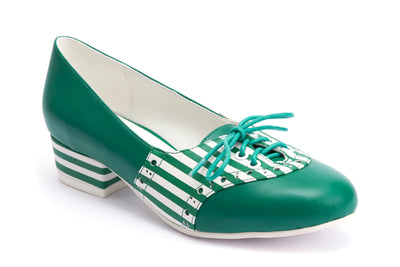 Lola Ramona Shoes - Revisited - Alice Green Stripes 1:2