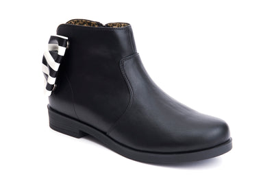 Lola Ramona Allison Arch Vegan Bootie striped