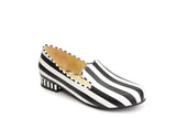 Lola Ramona Shoes Penny Hatter striped Loafers