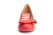 Lola Ramona Vegan Shoes - Eve Rosy - Vegan front