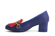 Lola Ramona Shoes - Eve Edge Block Heel Pumps in