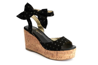 Lola Ramona Shoes - Nina Knot me Up - Wedge Sandals