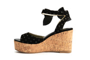 Lola Ramona Shoes - Nina Knot me Up - Wedge Sandals in