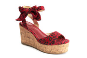 Lola Ramona Shoes - Nina Lynx Wedge Sandals