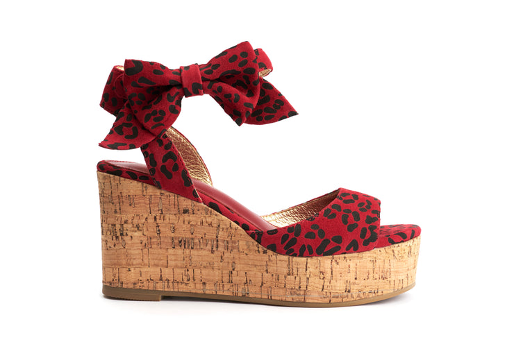 Lola Ramona Shoes - Nina Lynx Wedge Sandals out