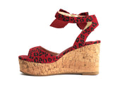 Lola Ramona Shoes - Nina Lynx Wedge Sandals in