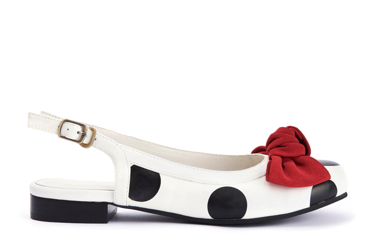Lola Ramona Shoes - Penny Chipper Slingback out