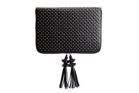 Rectangle Clutch Black Bamboo