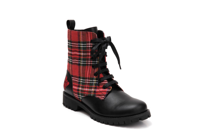 Shelly Tartan - Vegan -
