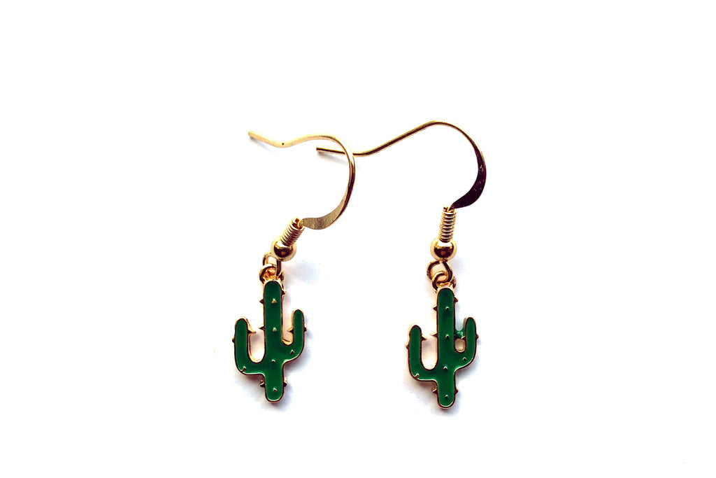 Cactus Drop Earrings