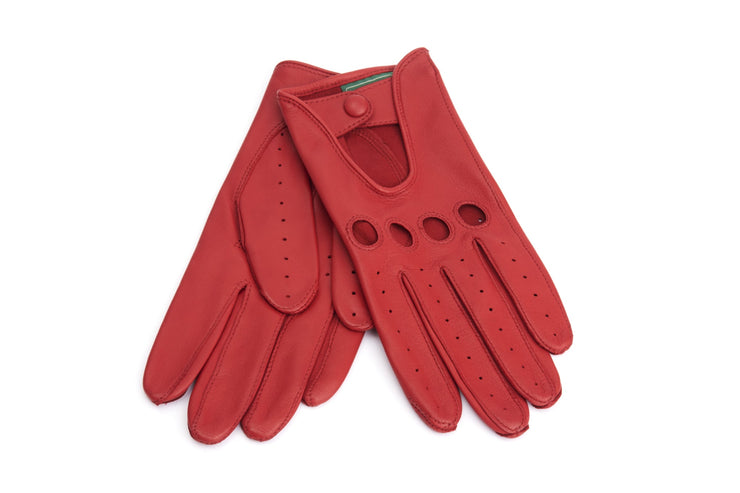 Driving Miss Daisy Gloves - Red -
