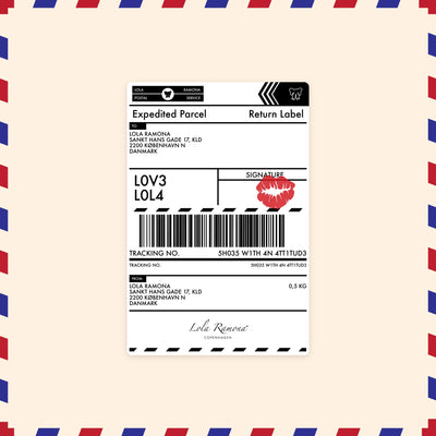 New Zealand & Australia - Return Label -