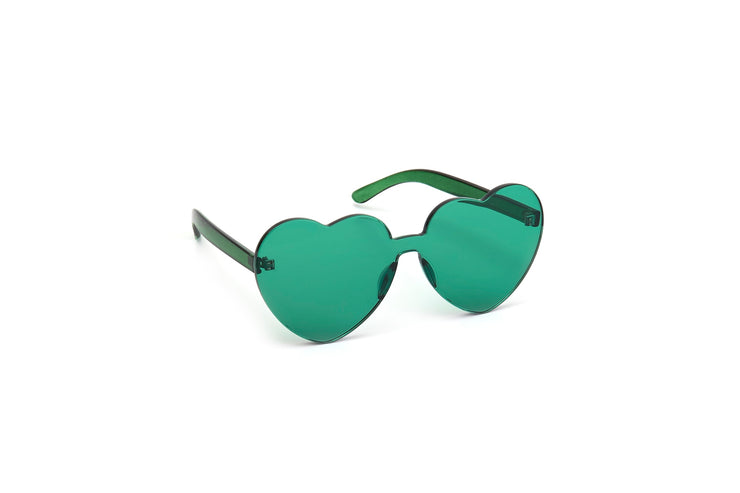 Heart Shades - Green -