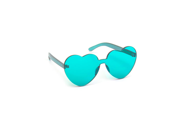 Heart Shades - Blue