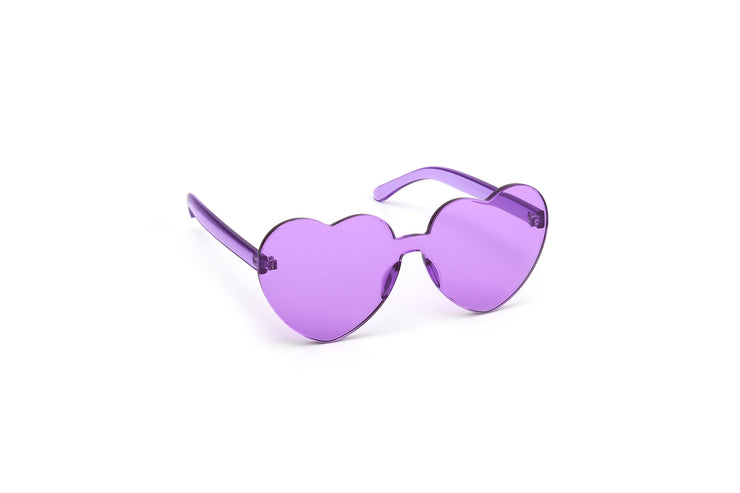 Heart Shades - Purple -