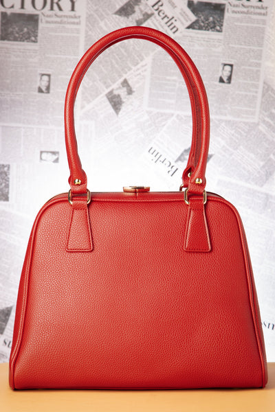 Peggy Handbag Warm Red