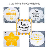 Unisex Burp Cloths for Babies & Toddlers (Pack of 5)