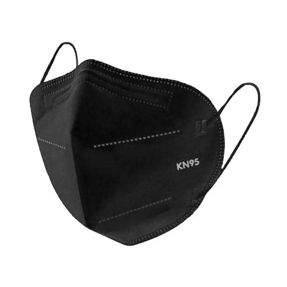 ANTIVIRAL BLACK KN95 HEALTH SAFETY FACE MASK