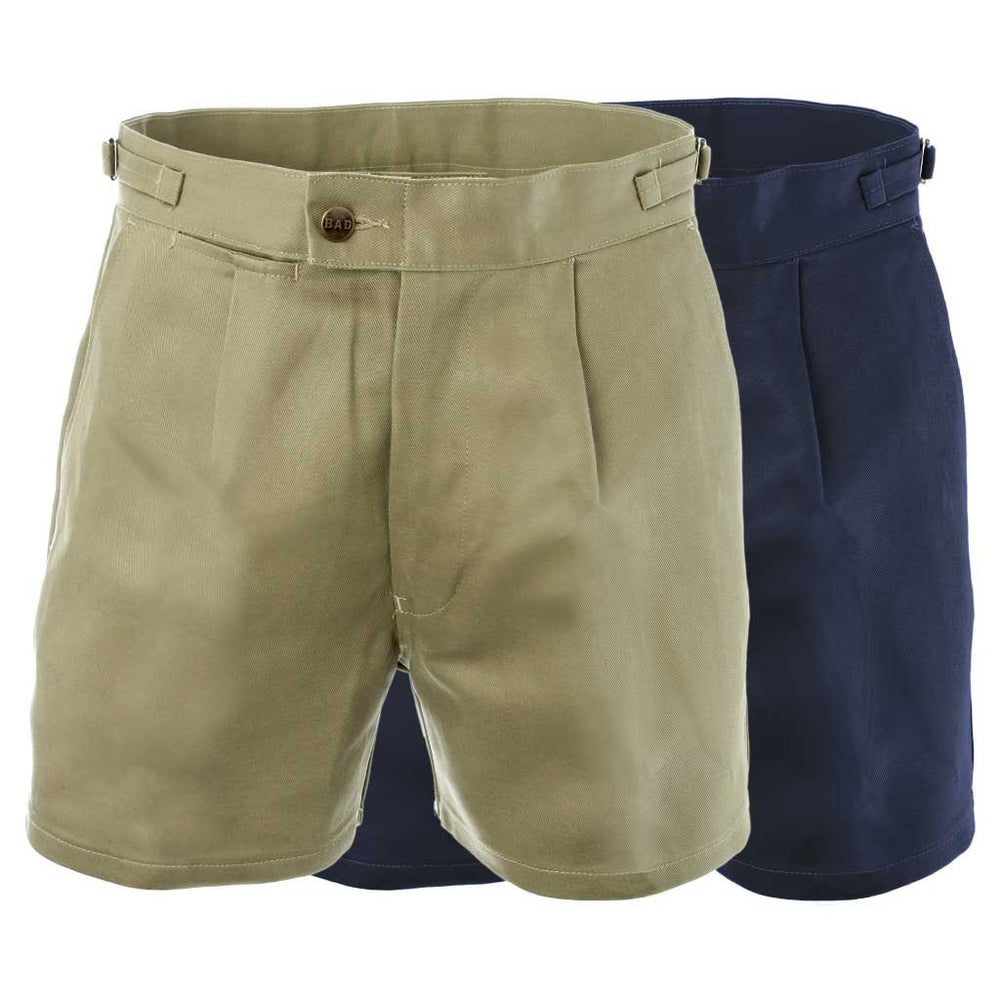 BAD COTTON DRILL WORK SHORT SHORTS