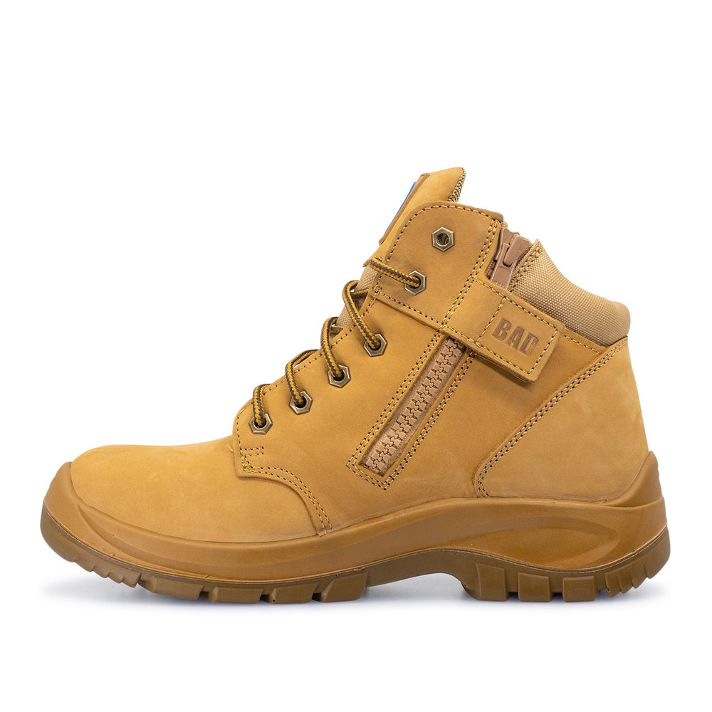 BAD CYCLONE™ ZIP SIDE WORK BOOTS - BAD WORKWEAR
