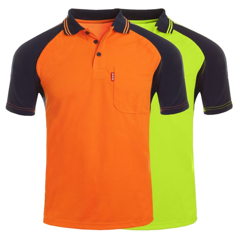 BAD® HI-VIS S/S POLO SHIRT