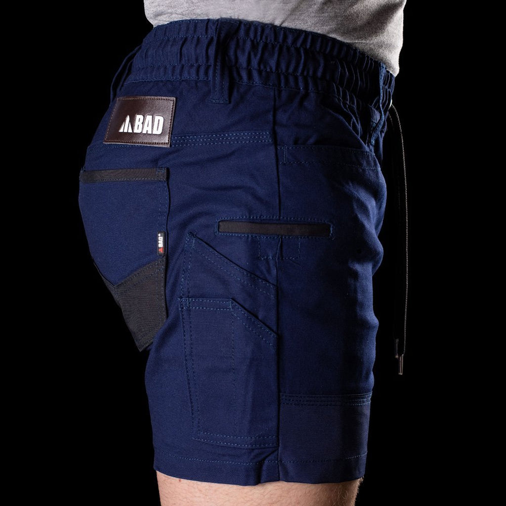 BAD SAVIOUR-PRO™ ELASTIC WAIST WORK SHORT SHORTS - BAD WORKWEAR