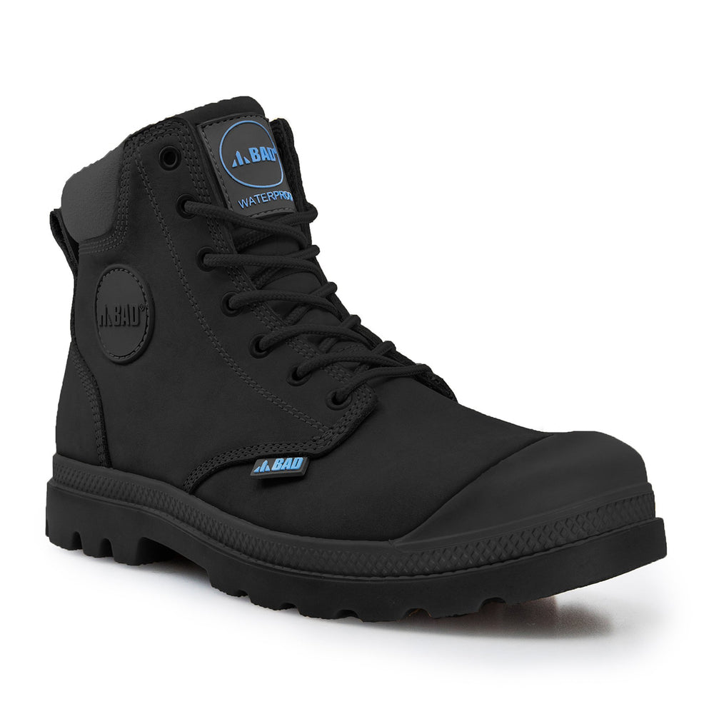 BAD SIGNATURE™ ZIP SIDE SAFETY WORK BOOTS - BAD WORKWEAR