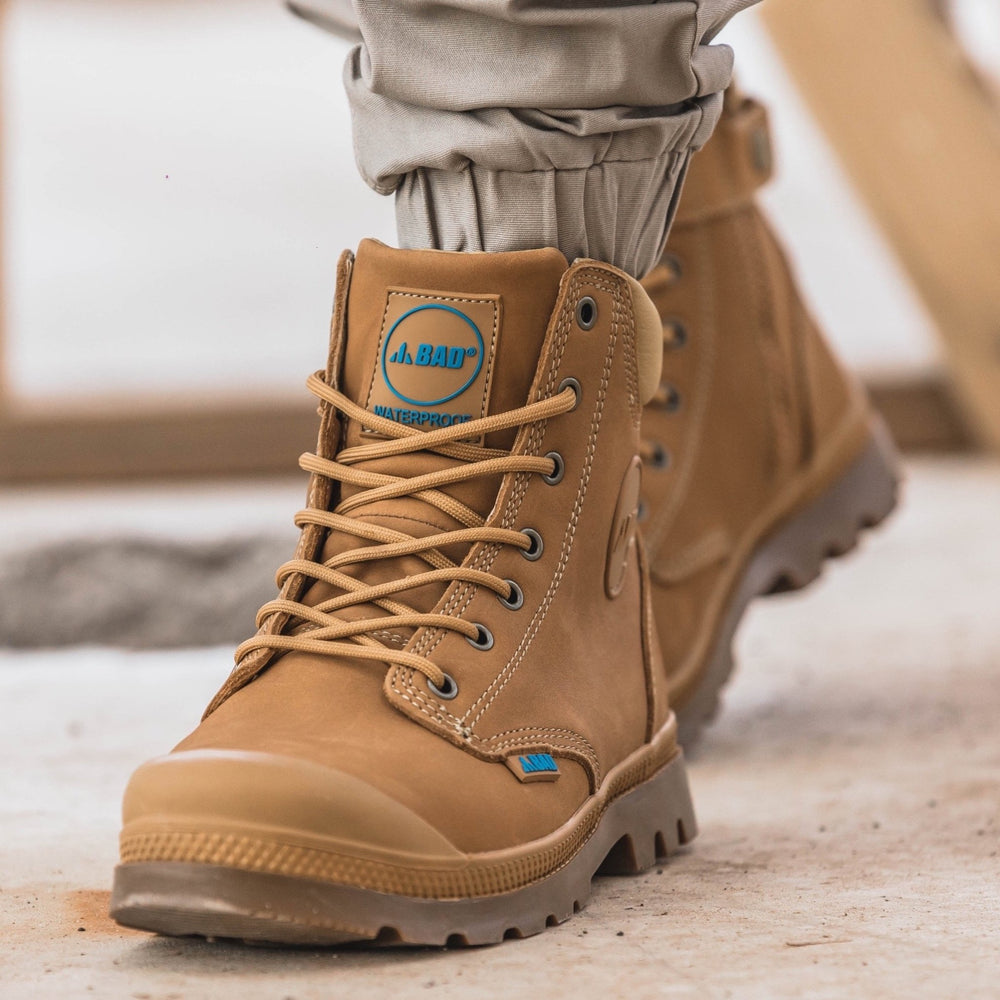 BAD SIGNATURE™ ZIP SIDE SAFETY WORK BOOTS