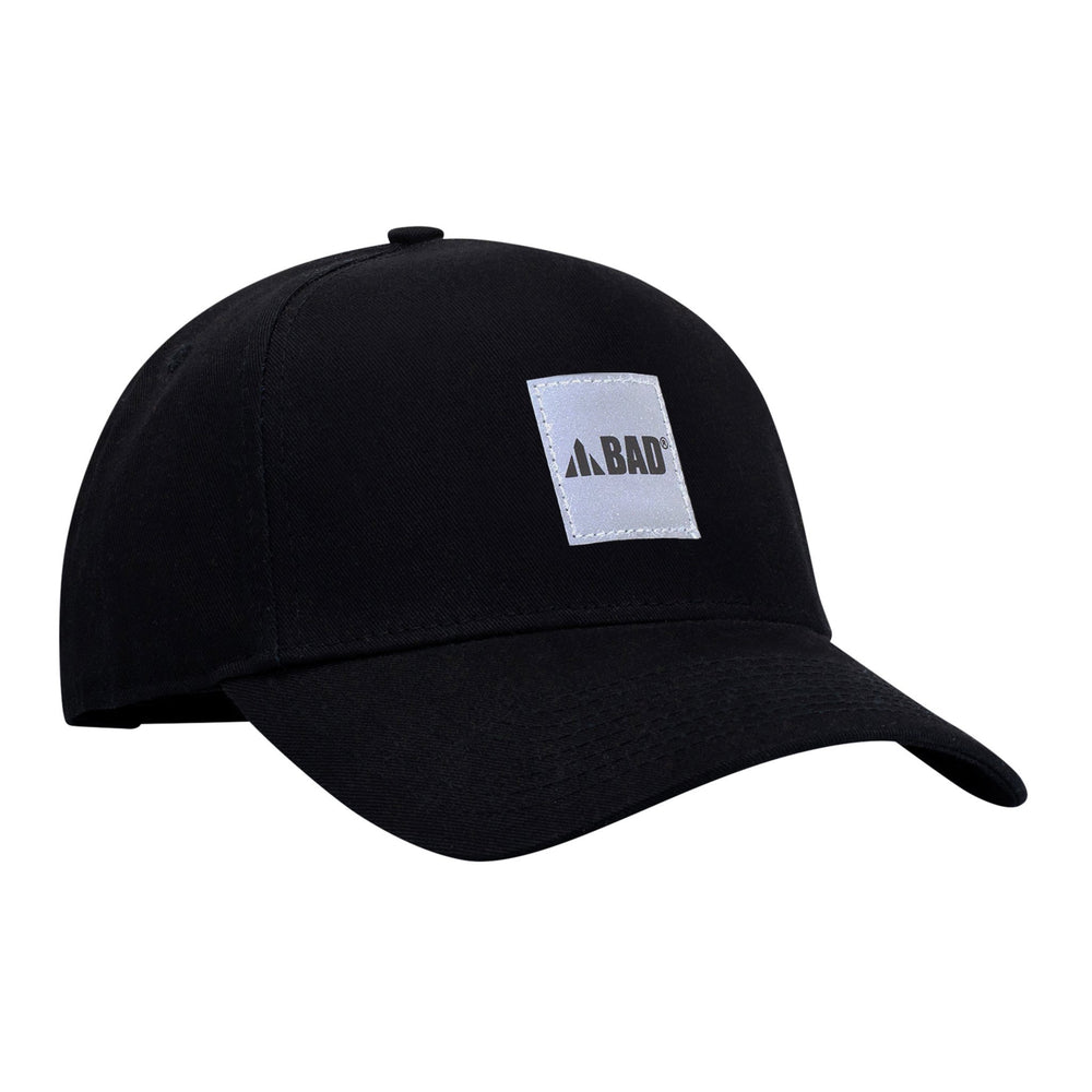 BAD SNAPBACK A-FRAME HAT WITH REFLECTIVE BOX LOGO - BAD WORKWEAR